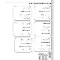 املای آموزشی درس اتفاق ساده فارسی چهارم