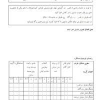 تکلیف عملی داستان رهایی از قفس فارسی چهارم ابتدایی