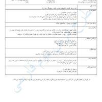 طرح درس کل فارسی دوم ابتدایی