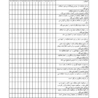 چک لیست فردی علوم دوم ابتدایی ۲۰۹۹۳۲۲۸۰۹