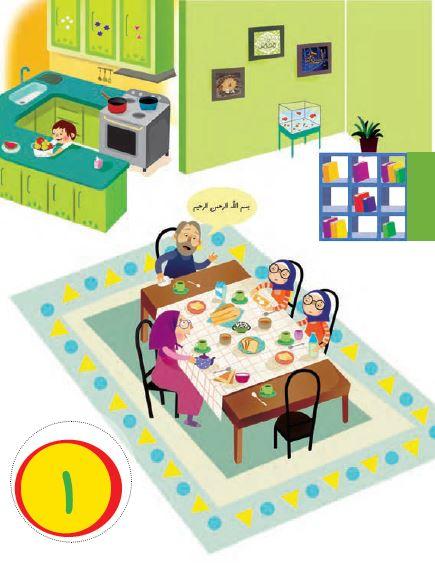 تم 1 ریاضی اول ابتدایی آشپزخانه