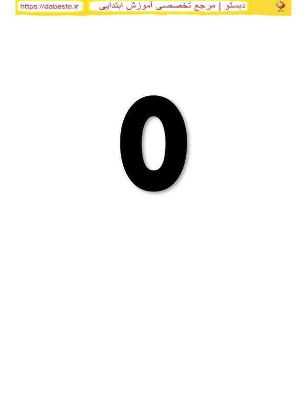 انگلیسی اعداد  ریاضی دوم ابتدایی